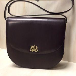 Ralph Lauren brown leather crossbody bag